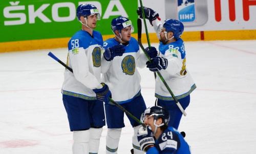 Финны и канадцы отдыхают. Сборная Казахстана вышла в лидеры ЧМ-2021 по важному показателю