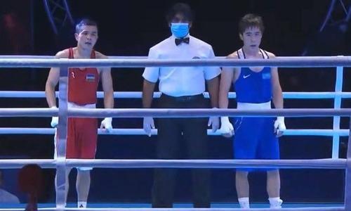 18-летний казахстанский боксер рассказал о том, как он взял «серебро» на ЧА-2021