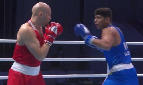 Видео полного боя со спорным поражением Василия Левита в финале чемпионата Азии по боксу