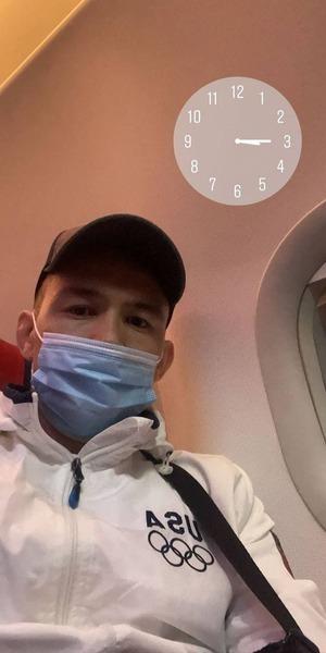 Казахский файтер вылетел в США за четвертой подряд победой в UFC. Фото