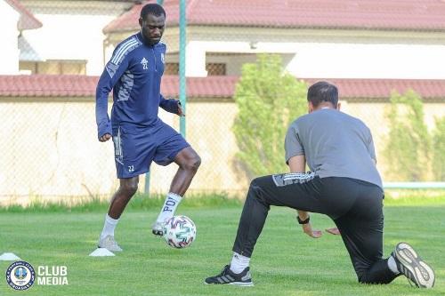 «Ордабасы» рассказал о восстанавливающемся после травмы лидере команды. Фото
