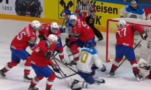 Казахстанские хоккеисты на ЧМ-2021 позволили сборной Норвегии сравнять счет и играют вничью после второго периода