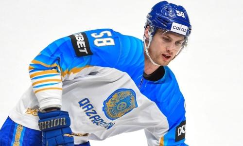 «Моя цель — остаться в КХЛ». Защитник сборной Казахстана не исключает ухода из «Барыса» в другой клуб