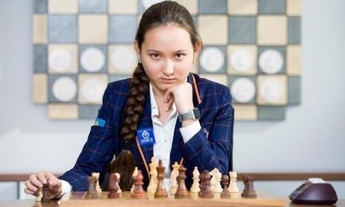 Казахстанская шахматистка прокомментировала завоевание звания международного гроссмейстера среди мужчин