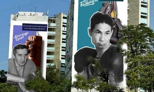 Муралы в честь легендарных боксеров появятся в Актау