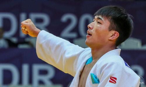 Казахстанец вышел в финал чемпионата мира по дзюдо. Еще один будет биться за «бронзу»