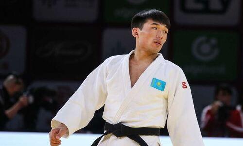 Казахстанец проиграл в финале чемпионата мира по дзюдо и взял «серебро»
