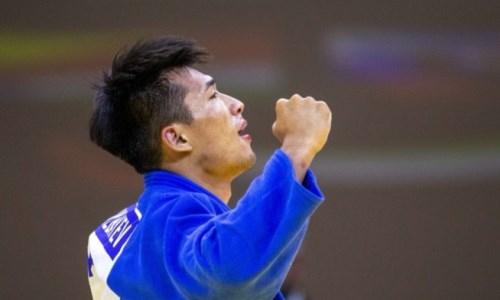 Представлено видео выступления казахстанского дзюдоиста в финале чемпионата мира-2021