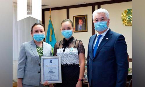 Казахстанская шахматистка награждена орденом «Дара»