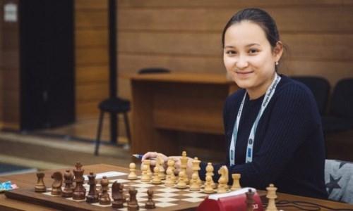 Жансая Абдумалик прокомментировала получение титула международного гроссмейстера среди мужчин