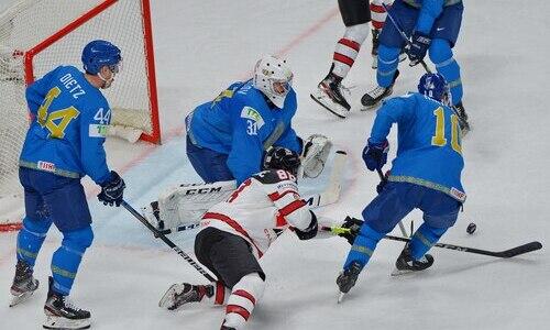 Яркий эпизод матча Казахстан — Канада попал в десятку лучших моментов ЧМ-2021. Видео