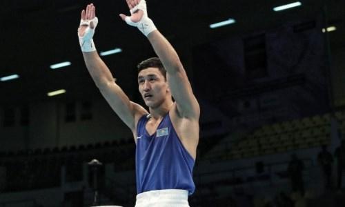 Призер чемпионата Азии по боксу вернулся в Казахстан и пошел в армию. Видео