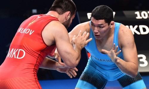 Казахстанский борец завоевал «бронзу» международного турнира в Польше