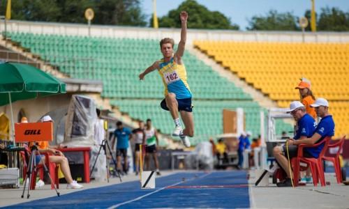 Чемпионат Казахстана среди юниоров по легкой атлетике был перенесен
