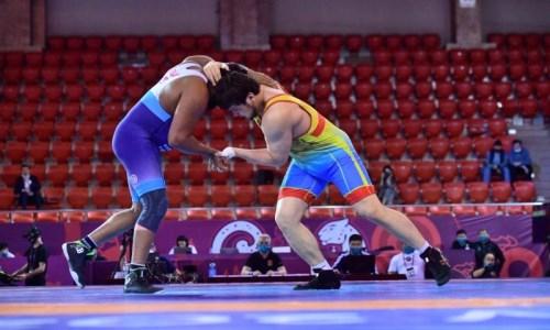 Три казахстанских «вольника» выиграли медали международного турнира в Польше