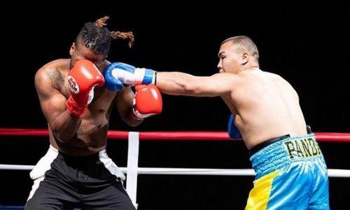 Стопроцентный нокаутер из Казахстана показал тренировку в США. Видео
