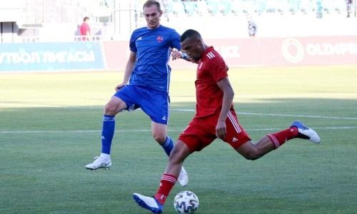 Российский защитник «Турана» не сыграет против «Кайсара»