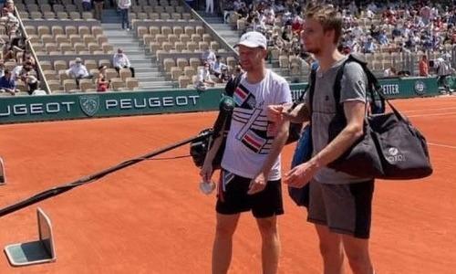 Андрей Голубев прокомментировал исторический выход в финал турнира «Ролан Гаррос»