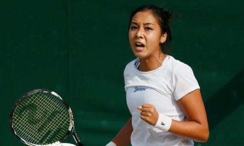 Зарина Дияс проиграла в третьем раунде турнира в Великобритании