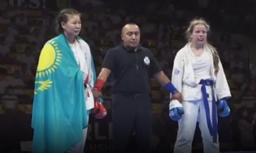 Казахстан завоевал пять медалей на чемпионате мира по рукопашному бою