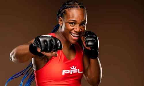 Абсолютная чемпионка мира по боксу ярким нокаутом дебютировала в ММА на турнире с участием Оспанова. Видео