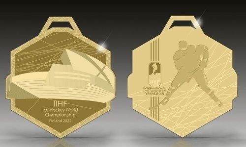Представлен дизайн медалей на чемпионат мира 2022 года с участием сборной Казахстана