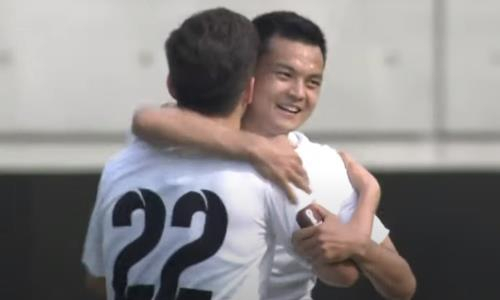 Накрутил двоих, забил и отдал ассист на гол-шедевр. Как «кыргызский Месси» из «Кайрата» феерил за свою сборную. Видео