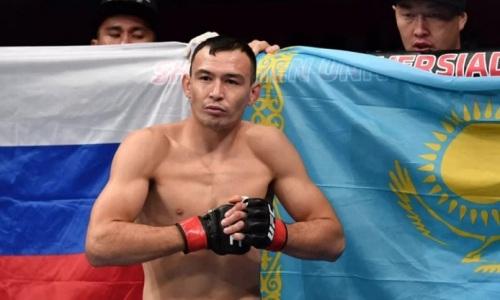 Казахский боец UFC выбыл на полгода. Подробности