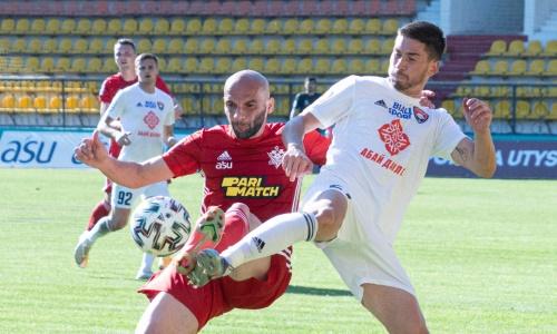 Защитник «Актобе» не сможет сыграть против «Атырау»