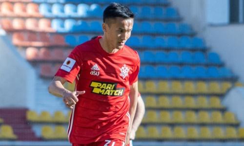 Танжариков стал третьим капитаном «Актобе» в сезоне