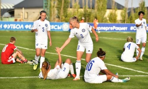Женская сборная Казахстана уступила Армении в товарищеском матче