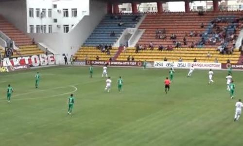 Видеообзор матча Премьер-Лиги «Актобе» — «Атырау» 1:0