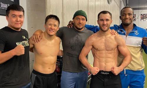 «С бразильскими гангстерами». Казахстанские файтеры UFC продолжают подготовку в топовом зале ММА