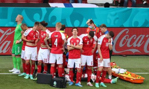Трагедия во время матча ЕВРО-2020. Кристиана Эриксена увезли со стадиона на скорой