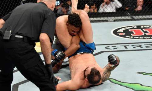 Переломом руки завершился бой на турнире UFC 263. Видео