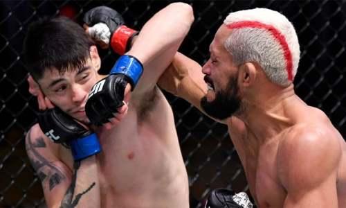 Чемпион UFC потерпел сенсационное досрочное поражение. Видео