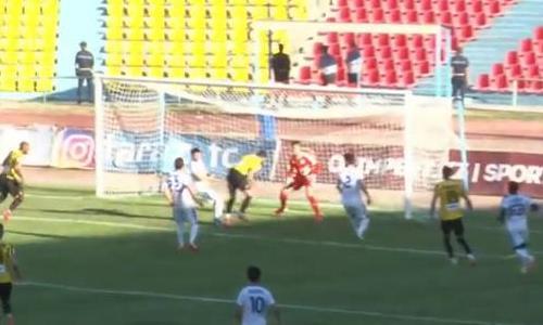 Видео гола Лава матча Премьер-Лиги «Тараз» — «Кайрат»