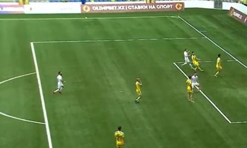 Видео гола Николича матча Премьер-Лиги «Астана» — «Тобол»