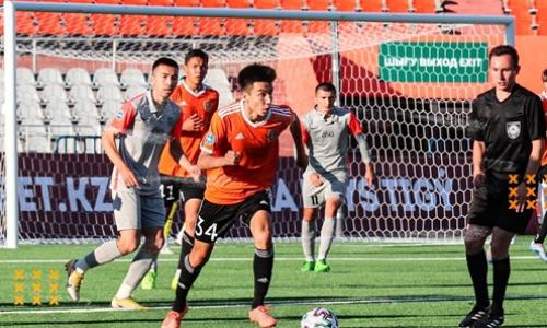 «Экибастуз» впервые в сезоне Первой лиги победил на выезде