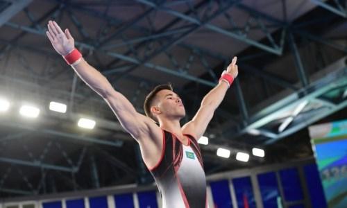 «Наша подготовка несравнима с европейской». Казахстанский гимнаст оценил свое выступление на этапе Кубка мира в Хорватии