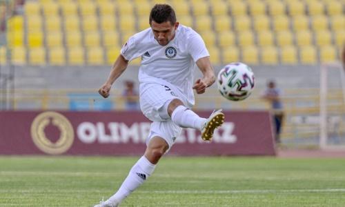 Лидер «Ордабасы» отреагировал на свой победный гол-красавец в матче КПЛ