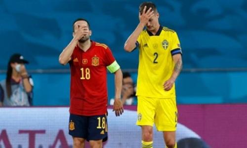 Неожиданным исходом завершился матч ЕВРО-2020 Испания — Швеция