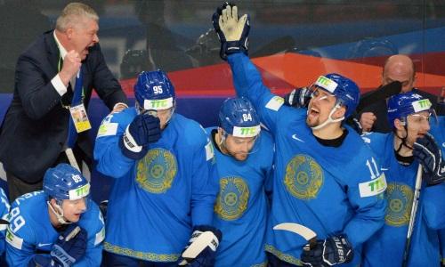 «Выходя на лед против Германии, перехватило дыхание и побежали мурашки». Дебютировавший в сборной Казахстана на ЧМ-2021 нападающий рассказал об ощущениях, «золоте» Канады и переходе в «Барыс»