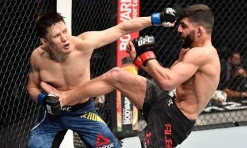 Чемпион американского промоушна восхитился битвой Жумагулова