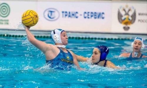Сборная Казахстана по водному поло проиграла американкам со счетом 2:20