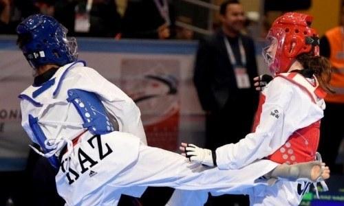 Казахстанская таеквондистка завоевала «бронзу» на чемпионате Азии в Ливане