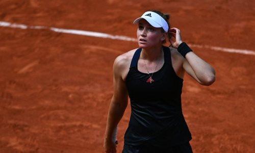 Лучшая казахстанская теннисистка проиграла во втором раунде турнира в Берлине