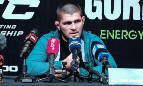 Хабиб Нурмагомедов: «Через 7-8 лет у Казахстана будут чемпионы в UFC»