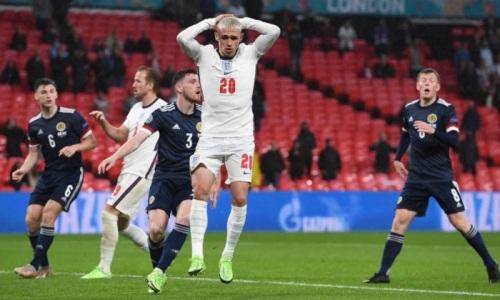 Англия не смогла победить разгромленную Казахстаном сборную на ЕВРО-2020