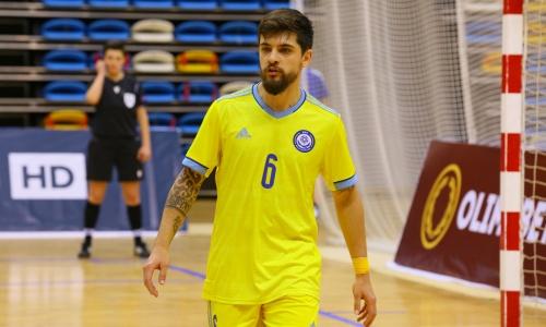 Игрок сборной Казахстана стал бронзовым призером Чемпионата России